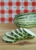 Green zucchini Stock Photo