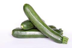 green zucchinien Arkivfoton