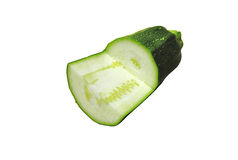 Green zuccinni Stock Image