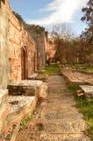 Greenback castle walkway. Greenback walkway around castle. Beautiful day Royalty Free Stock Image