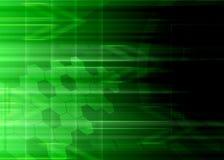 Greenbackground abstrato da tecnologia. Imagens de Stock
