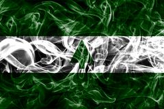 Greenbelt city smoke flag, Maryland State, United States Of Amer. Ica Stock Photo