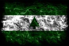 Greenbelt city smoke flag, Maryland State, United States Of Amer. Ica Royalty Free Stock Photography