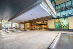 Greenbelt shopping mall on Sep 4, 2017 in Makati, Metro Manila,. Philippines- Cityscape royalty free stock photo