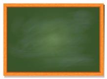 Greenboard z drewno ramą, wektorowy ilustracyjny projekt Royalty Ilustracja
