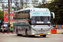 Greenbus chiang mai to maesai. The company's largest operating in north region Royalty Free Stock Photo