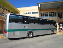 Greenbus chiang mai to phuket. The company's largest operating in north region Stock Photography