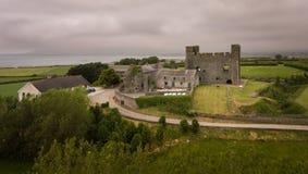 Greencastle спуск графства, Северная Ирландия стоковое изображение rf