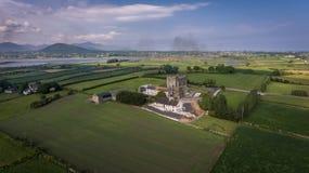 Greencastle спуск графства, Северная Ирландия стоковые изображения