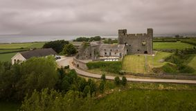 Greencastle basso della contea, Irlanda del Nord immagine stock libera da diritti