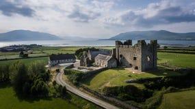 Greencastle basso della contea, Irlanda del Nord immagini stock
