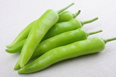 GreenChillies (Jalapenos) Royalty Free Stock Image