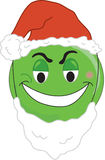 Greenchy face. A Smiley type greench face Royalty Free Stock Photography