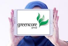Greencore-Gruppenlogo stockfoto