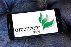 Greencore-Gruppenlogo lizenzfreies stockfoto