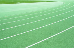 Greene track and field Royalty Free Stock Image