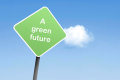 A greener future Royalty Free Stock Photography