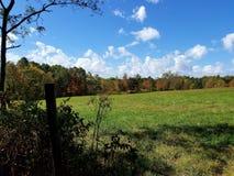 Greener Pastures. Albany,Ohio farm field Royalty Free Stock Photo