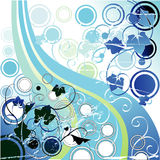 Greenery bubbles highway Royalty Free Stock Image