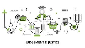 Greenery concept of judgment process Royalty Free Stock Photo