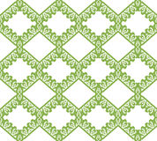 Greenery eco rhombus seamless pattern background Royalty Free Stock Photography