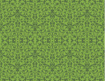 Greenery eco swirl seamless pattern texture vector Stock Images
