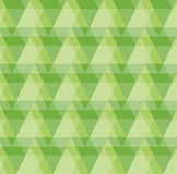 Greenery Geometric Pattern Background. Of triangles and rectangles Royalty Free Stock Images