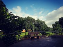 Pune park Stock Image