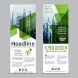 Greenery Roll up layout template mock up. flag flyer banner backdrop design. vector illustration background Stock Photo