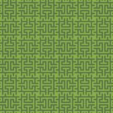 Greenery Squares Modern Seamless Pattern. Royalty Free Stock Photography
