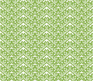 Greenery zigzag seamless pattern background Stock Images