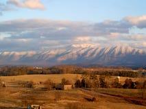 Greeneville TN Mountain. Smoky Mountain near the city of Greeneville Tennessee Stock Image