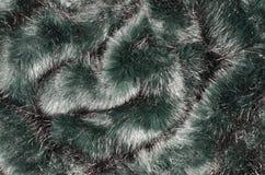 Greenfake  fur background Stock Photos