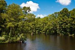 Greenfield湖 库存照片