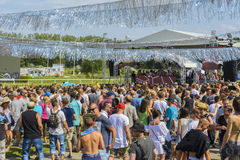 Greenfield Festival Open Air 2015 Royalty Free Stock Image