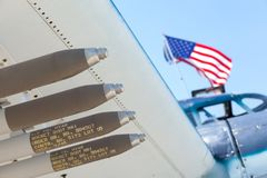 The CAF Warbird Expo royalty free stock photography