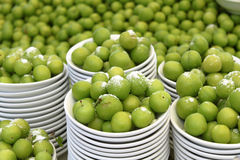 Greengage Plum Galore Stock Photo