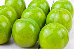 Greengages plums Stock Photography