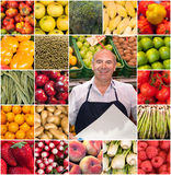 Greengrocer collection Royalty Free Stock Photography