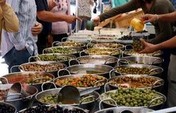 Greengrocer's market Stock Image