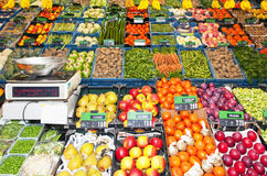 Greengrocer's shop Stock Image