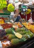 Greengrocers Royalty Free Stock Image