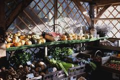 Greengrocers Royalty Free Stock Images