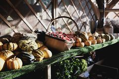 Greengrocers Royalty Free Stock Photos