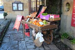 Greengrocers Royalty Free Stock Photo