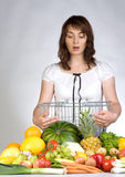 greengrocery αγορές στοκ εικόνες με δικαίωμα ελεύθερης χρήσης