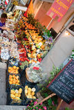Greengrocery dans Taormina, Sicile Photo libre de droits