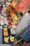 Greengrocery dans Taormina, Sicile Photo libre de droits