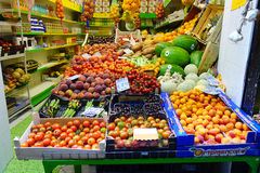Greengrocery Vegetables Fruits Stock Photos