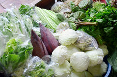 Greengrocery or Vegetables Shop Royalty Free Stock Images